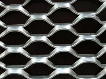 吊顶拉伸铝板网